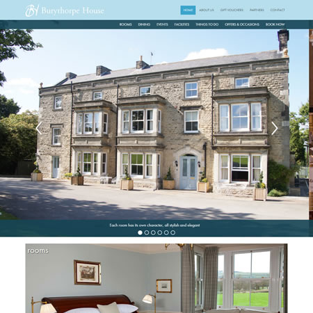 Burythorpe House Website - Home